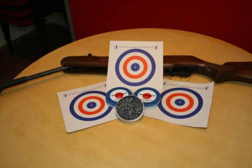 Air rifle -