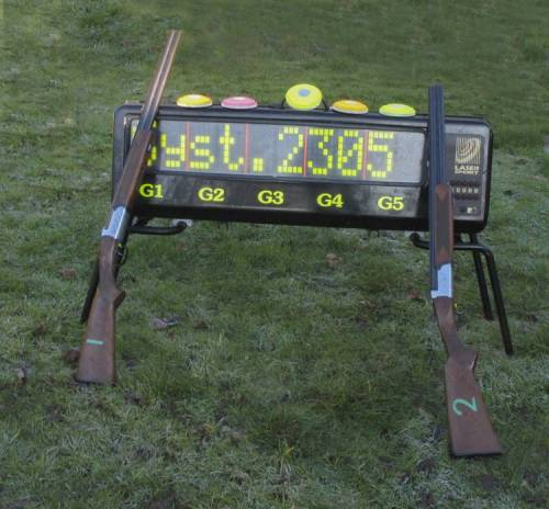 Laser Clay Shooting -