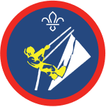 Scout Section Climber Activity Badge -