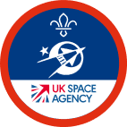 Scout Section Astronautics Badge