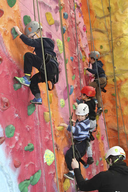 Climbing Wall Induction Course